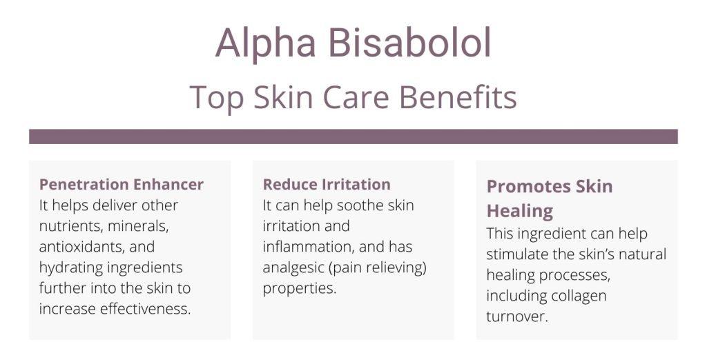 alpha bisabolol skin benefits