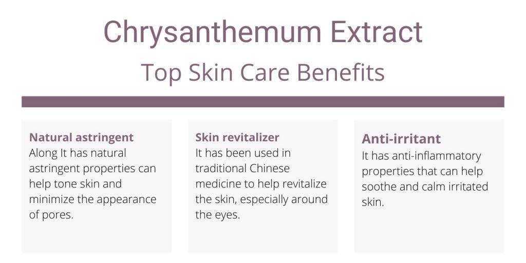 Chrysanthemum Extract skin benefits