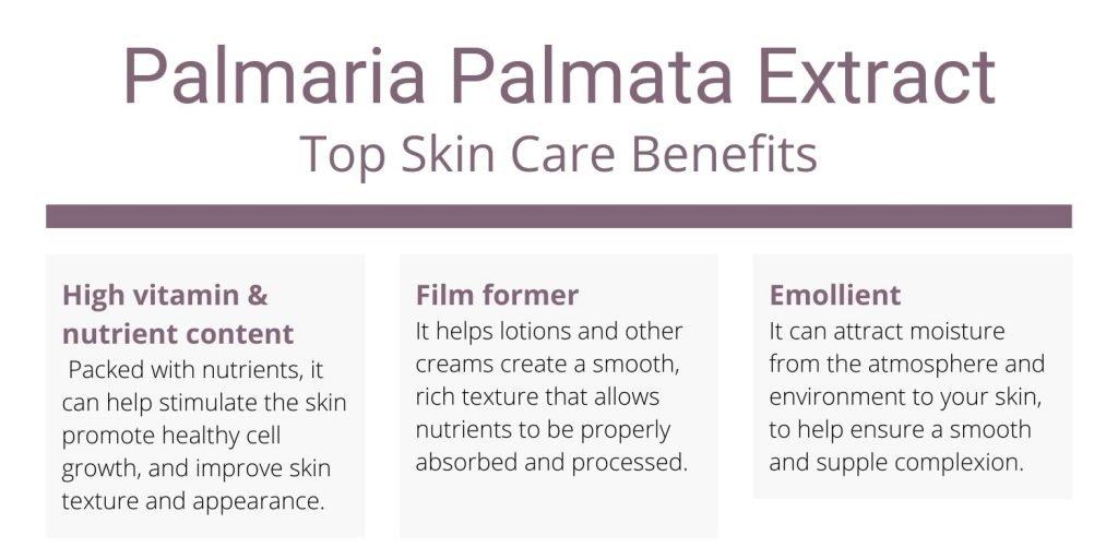 Palmaria Palmata extract skin benefits