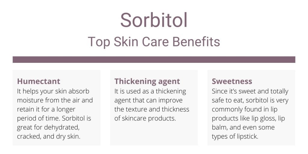Sorbitol top skin care benefits and uses