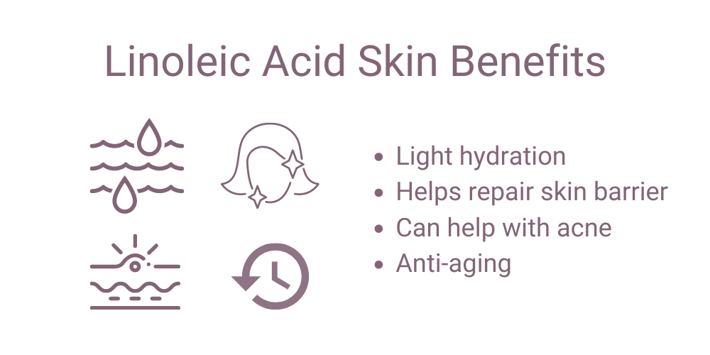 linoleic acid skin benefits
