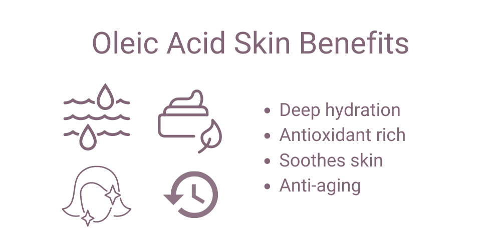 oleic acid skin benefits