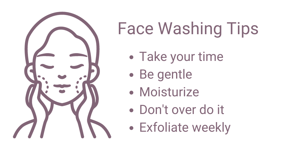 Best way to wash your face - face washing tips