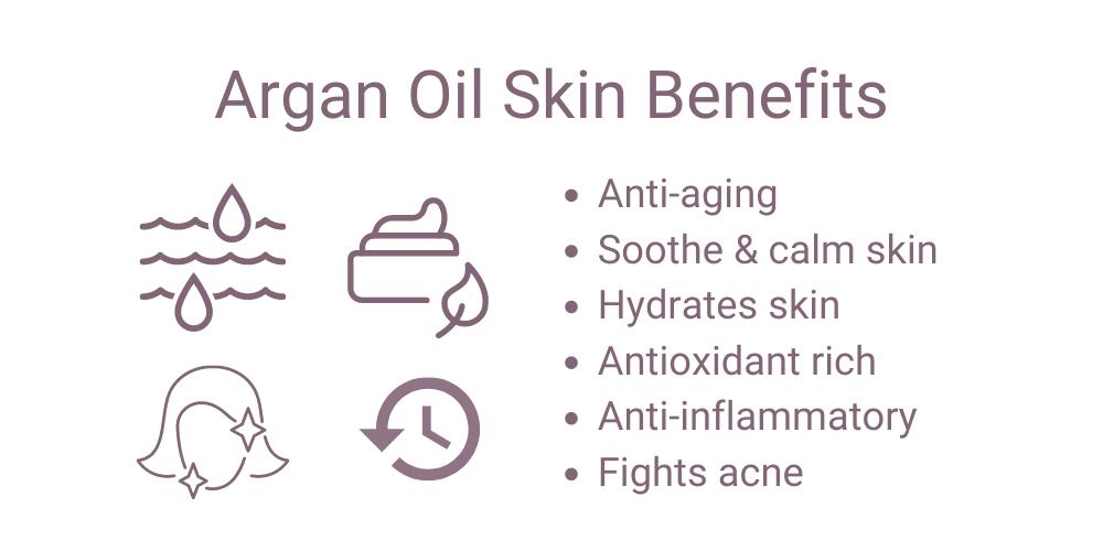 Argan Oil skin benefits