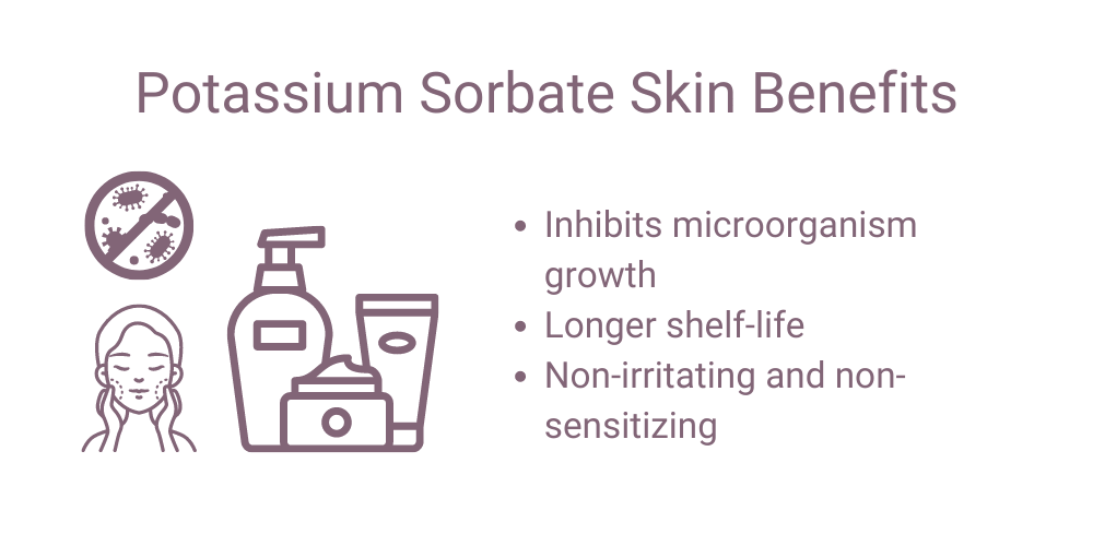 Potassium Sorbate Benefits for Skin