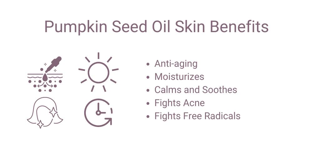 Pumpkin seed oil benefits for skin