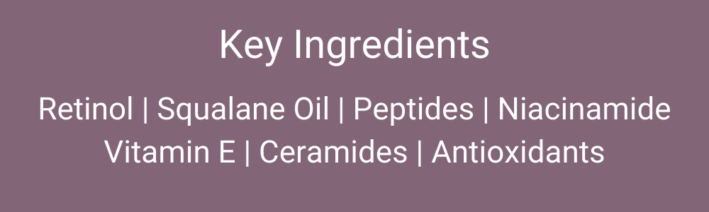 SkinMedica Retinol 1.0 Complex Ingredients