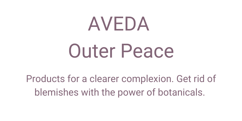 Aveda Outer Peace Review
