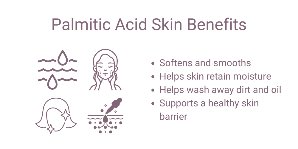 Palmitic Acid Skin Benefits