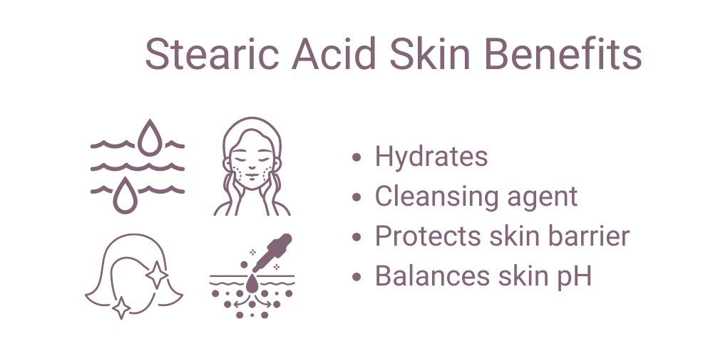 Stearic Acid Skin Benefits